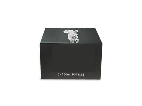 黑色彩盒纸箱